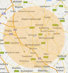 Painter and Decorator Northampton Areas Covered